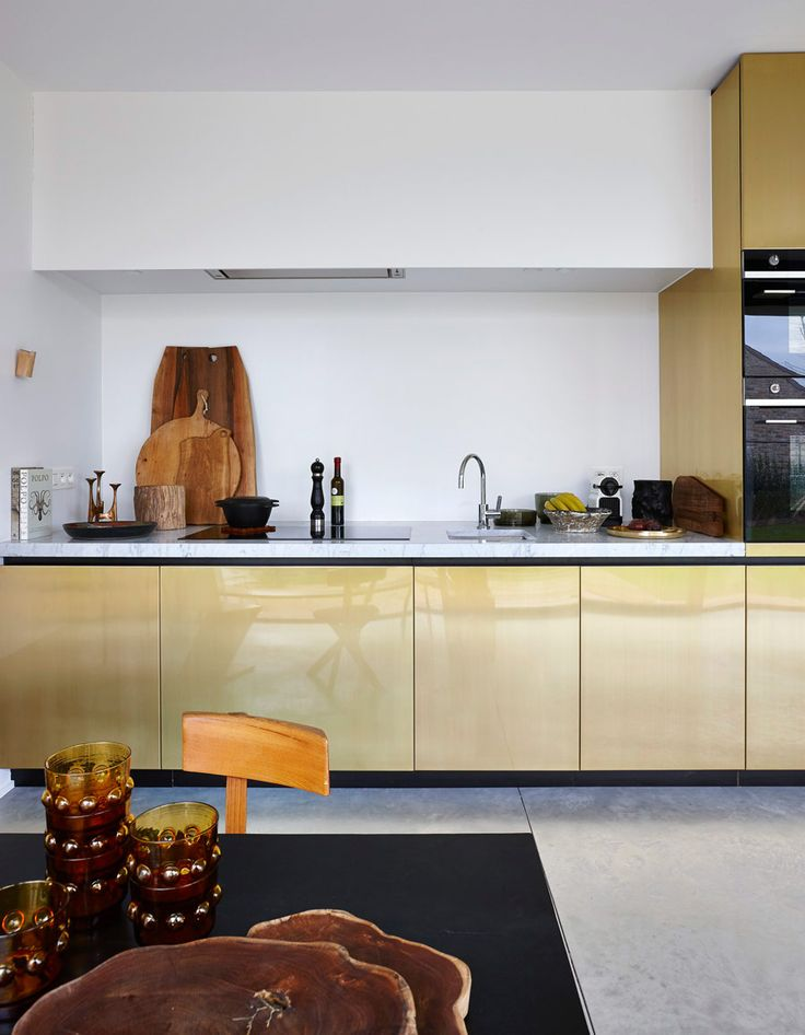 Frederic Hooft Has A Nice Portfolio And House Number 91 One Caught My Attention These Modern Kitchen