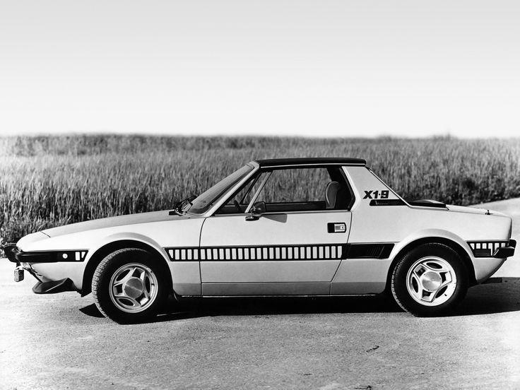 Fiat X1/9 - 1972