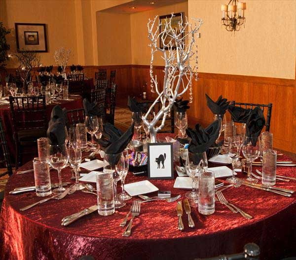 Halloween Wedding Reception Ideas 46 Love The Centerpieces Part 83