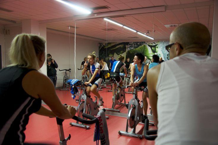 Wspólny trening z Mają Włoszczowską w Bażantowo Sport