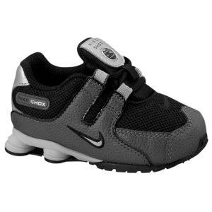 Nike Shox NZ - Boys\u0027 Toddler - Black/Dark Grey/Black/Metallic
