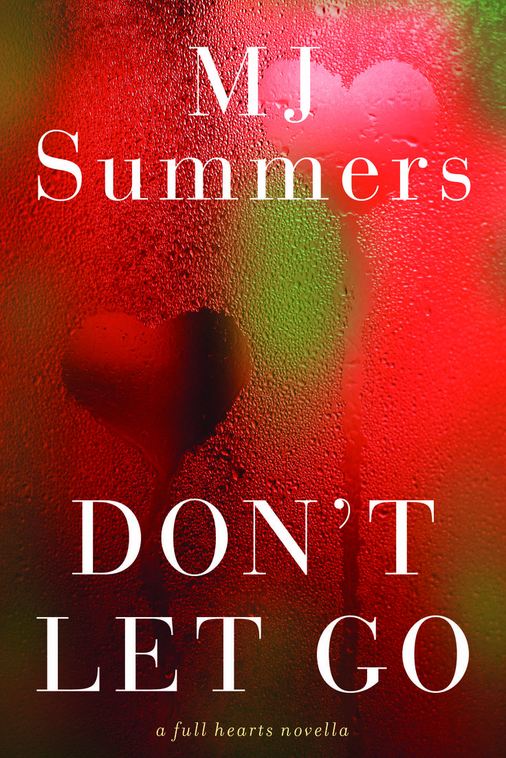 The beautiful Canadian Cover for Don't Let Go