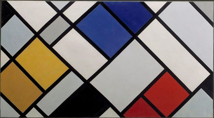 Theo van Doesburg, Contea-Composition XVI, 1925