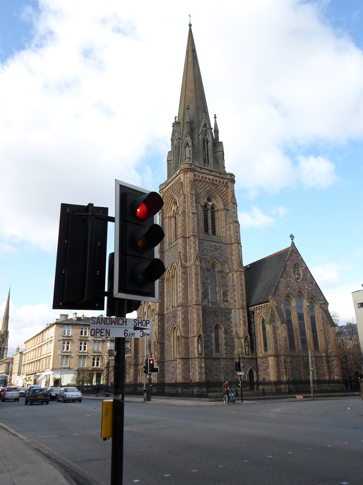 Glasgow West End Road.