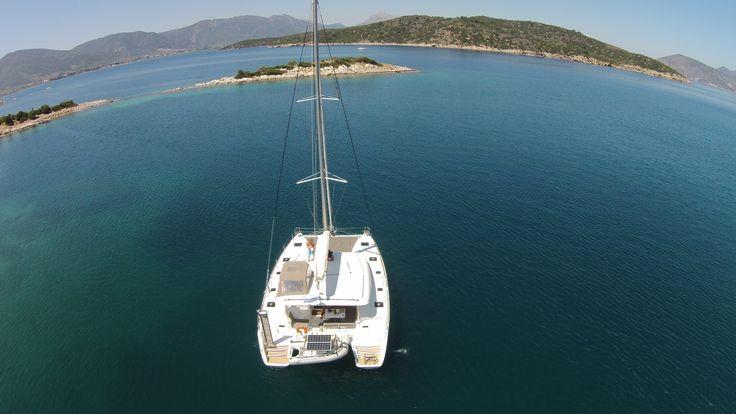 Aluguel de barco pelas ilhas gregas
