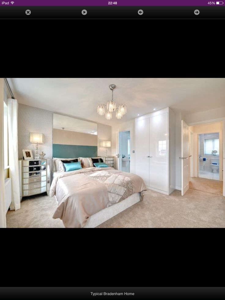 Taylor Wimpey Show Home Bedroom Master Bedroom