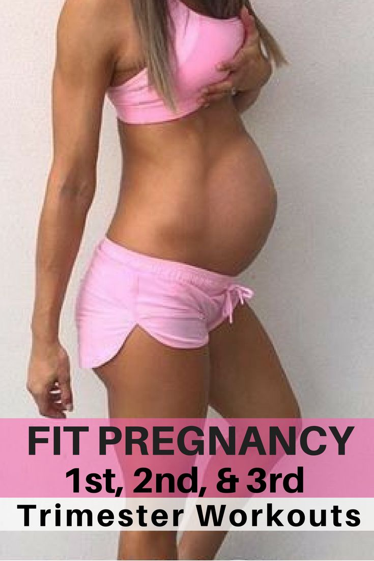 Pregnancy workouts for every trimester. Pregnancy workouts are safe & can be done at home with no equipment and in every trimester to have a fit pregnancy.