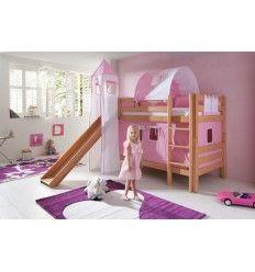 17 meilleures images propos de chambre enfant sur pinterest meubles pour - Lit superpose toboggan ...
