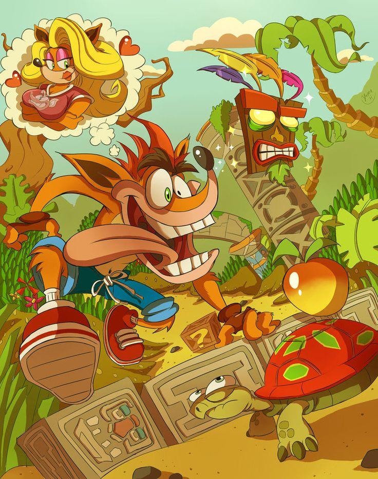 The Crash Bandicoot is finally back!