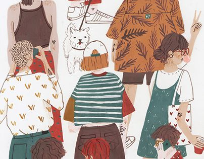 """Check out new work on my @Behance portfolio: """"Festival"""" http://be.net/gallery/48187681/Festival"""