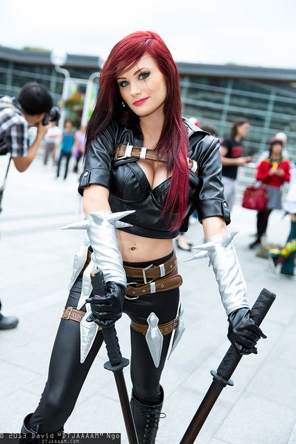 Katarina (from League of Legends), #DTJAAAAM #Cosplay ...