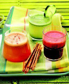 Genießen Sie Gemüsesaft: Gesunde Rezepte für Gemüsesäfte zum selber machen, wie Würziges Gemüse-Allerlei, Gartencocktail, Apfelrhapsodie, Detox-Drink, Grüner Saft ...