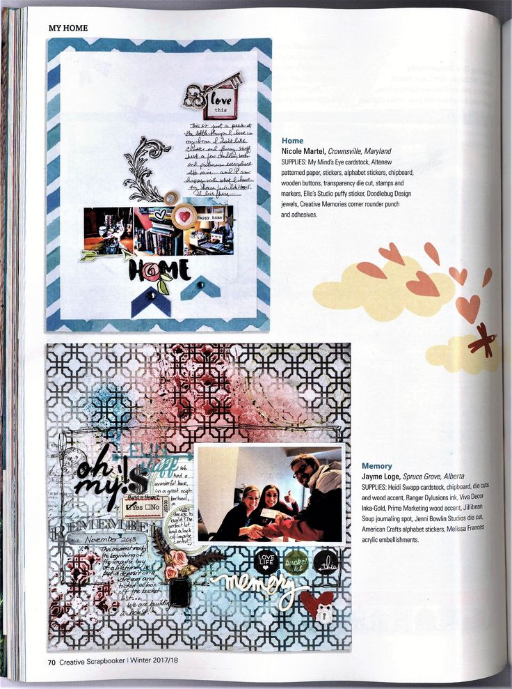 Home Published in Creative Scrapbooker, Winter 2017 Issue