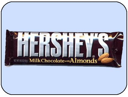 Hershey's Milk Chocolate w/ Almonds Bars - 36ct from CandyStore.com