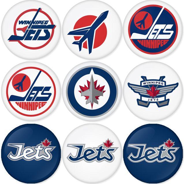 "Winnipeg Jets NHL 1.75"" Badges Pinbacks, Mirror, Magnet, Bottle Opener Keychain http://www.amazon.com/gp/product/B00CKGJLMK"