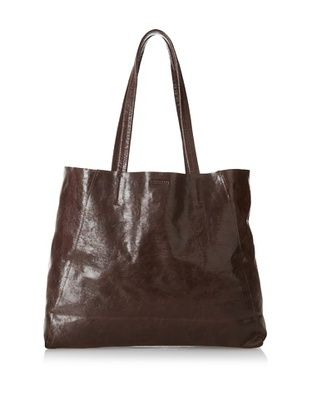 68% OFF Streets Ahead Women's Classic Small Tote, Glazed Dark Chocolate