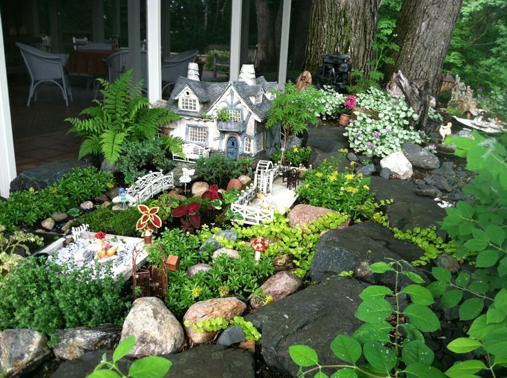 Top 25 best Large fairy garden ideas on Pinterest Diy fairy
