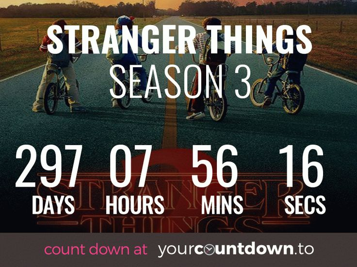Countdown To Stranger Things Season 3 Release Date