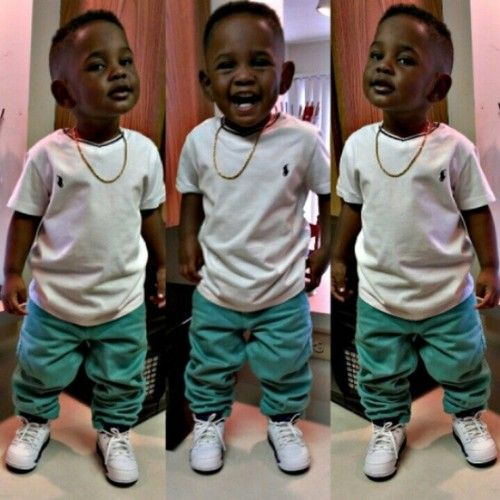 Baby Kendrick Lamar Too Cute Stylish Kids Baby Boy