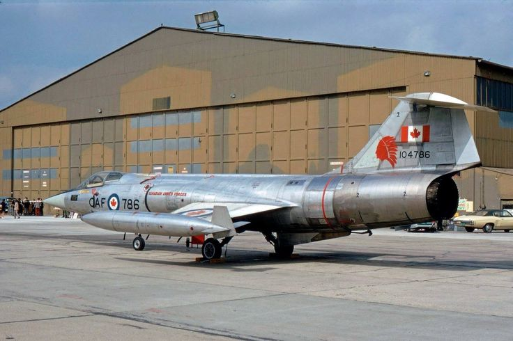 Canadian Armed Forces F-104G