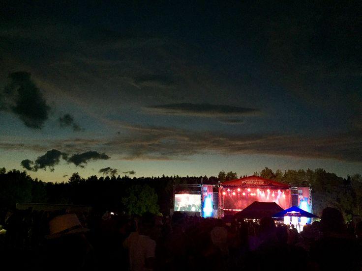 České HRADY. Music festival. On the middle of nowhere. Rožmberk nad Vltavou.