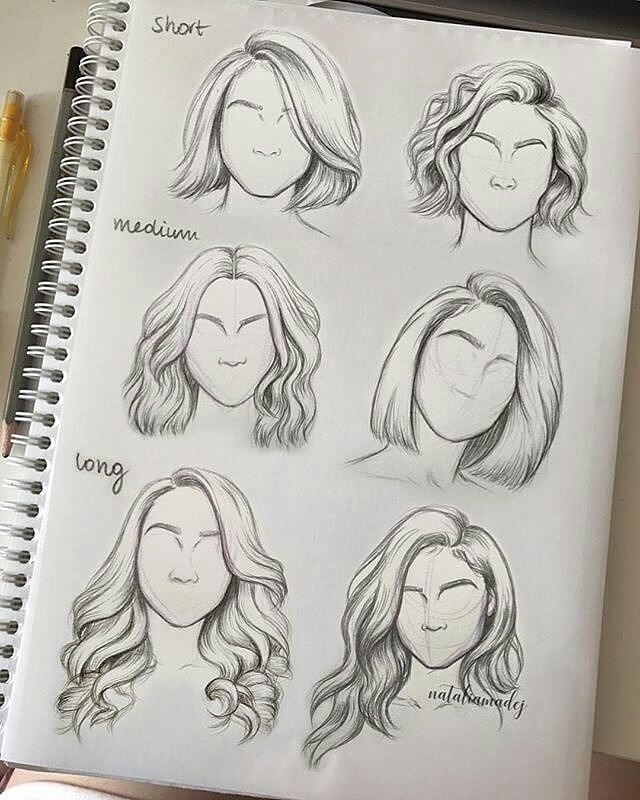 """17.2 thousand Likes, 215 comments – ART SHARING PAGE (@ magnificent.art) on Instagram: """"Which hairstyle is your favorite? ⭐ ◆◆◆◆◆◆◆◆◆◆◆◆◆◆◆◆◆◆◆◆ ◆◆◆ Artist: @nataliamadej Contact us for … """""""
