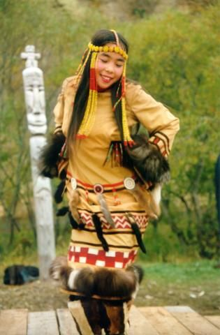 Koryaks (or Koriak) are an indigenous people of Kamchatka Krai in the Russian Far East, who inhabit the coastlands of the Bering Sea to the south of the Anadyr basin and the country to the immediate north of the Kamchatka Peninsula, the southernmost limit of their range being Tigilsk, Russia.
