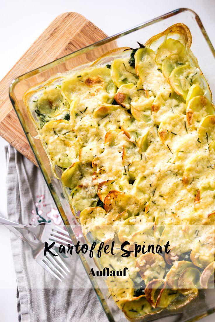 Kartoffel-Spinat-Auflauf – Das Rezept auf unserem Blog