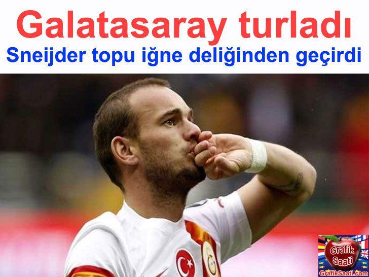 Sneijder 85. dakikada topu iğne deliğinden geçirdi Sports Turkey
