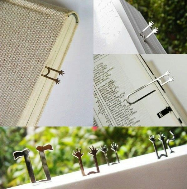 Find This Pin And More On Bookville By Monicadaless. Fairy Tale Bookclip  By. 25 Creative Bookmark Design Ideas ...