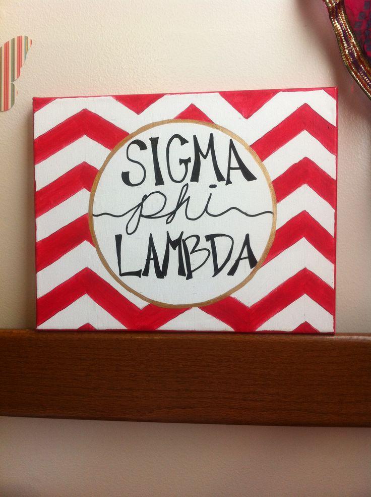 Sigma phi lambda canvas