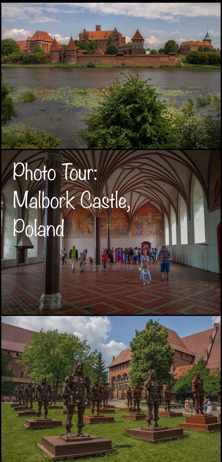 Another thing to surprise us about this area of northern Poland: it is home to the largest castle in the world (by surface area). The Malbork Castle was built by the Teutonic Knights and completed in 1406 after the conquest of Old Prussia. It is a dominating presence on the banks of the Nogat river, having been expanded several times to house the number of knights who resided there and soon became the largest fortified Gothic building in Europe. Click the photo to continue reading.