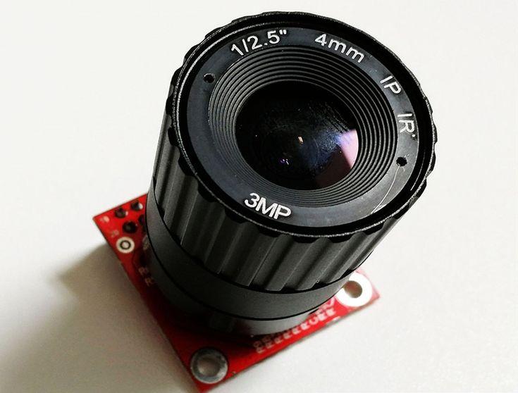 MT9V034 Machine Vision Camera DVP Interface Development Board Accessories 752*480@60FPS 27MHZ Machine vision sensor Accessories