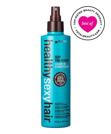 Best Leave-in Conditioner No. 8: Sexy Hair Healthy Sexy Hair Soy Tri-Wheat Leave-In Conditioner, $17.95