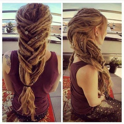Hairstyles For Long Hair Locks : ... Hairstyles on Pinterest Dreadlocks, Locs and Loc hairstyles