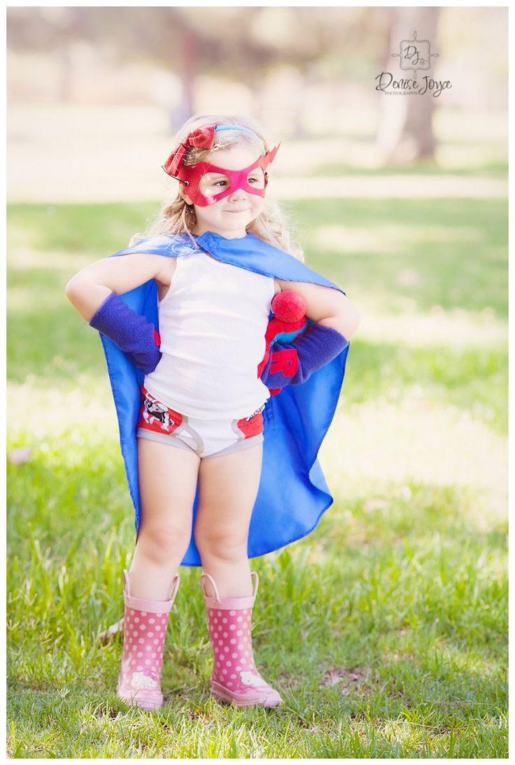 Super Here's Photography, Children's Photography, Super Hero Mini's Sessions, Cap, rainboots, little girl super hero.