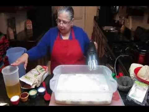 MAKE TAMALE MASA FAST & EASY/Masa para Tamales Rapido y Facil Tamale Recipes/Recetas para Tamales www.TamaleSpreader.com