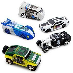 Disney Marvel Universe Die Cast Car Set #3 -- 5-Pc. by Disney. $25.00. Imported. Ages 3+. Set #3 Includes: Punisher, Captain America, Loki, Kingpin and Silver Surfer . Up to 3'' L. Die cast metal. . Set #3 Includes: Punisher, Captain America, Loki, Kingpin and Silver Surfer . Die cast metal. Up to 3'' L. Ages 3+. Imported. Collect all the Marvel Universe Die Cast Car Sets, each sold separately.
