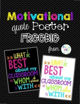 BRIGHT NEON COLORS with BLACK CHALKBOARD STYLE or WHITE BACKGROUND POSTERHang this in your classroom to serve as a daily reminder of how much you love your kiddos!Thank you!Kristina Stankovich