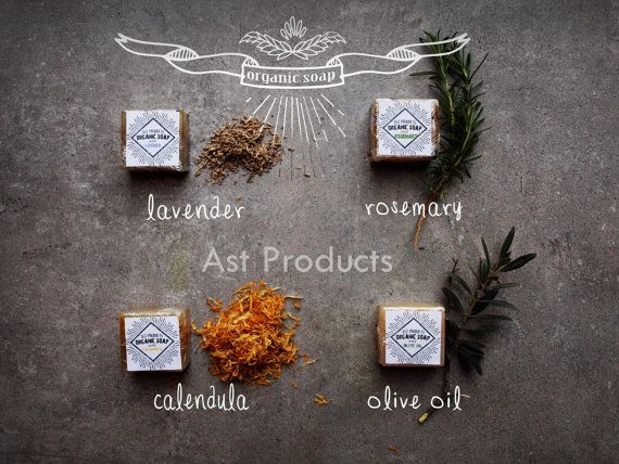 Organic Soaps by ASTPRODUCTS on Etsy