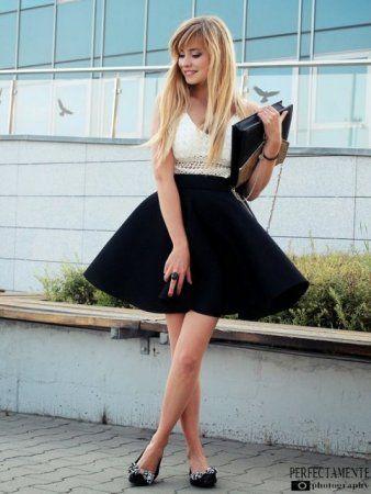 favourite skirt- więcej na stylizacje.pl