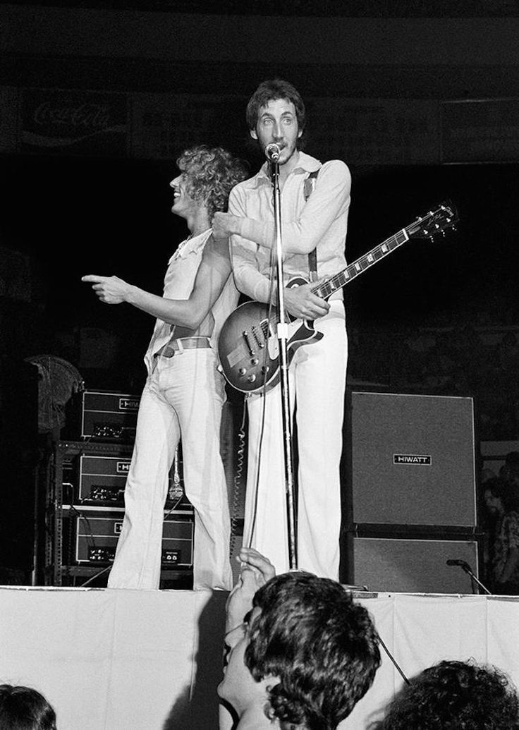 Roger Daltrey & Pete Townshend | From a unique collection of black and white photography