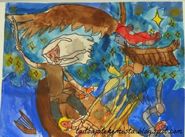 Taitoa ja tekemistä: Kalevalanpäivä