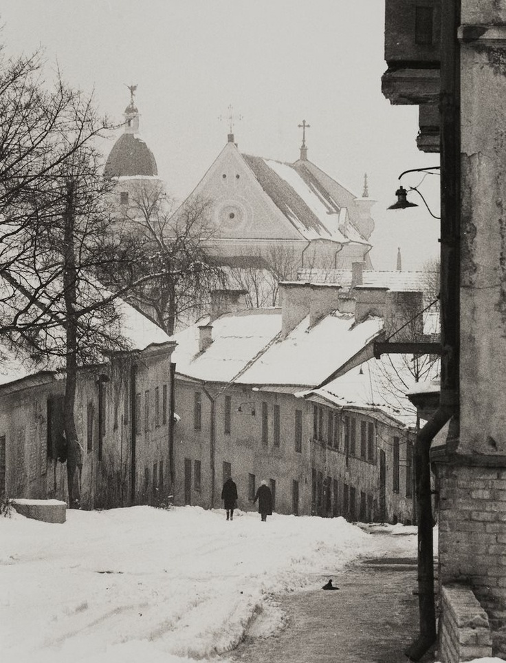 The Old town of Vilnius, Lithuania