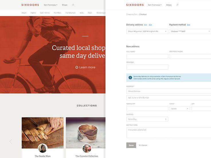 Browse, Checkout by Shaun Moynihan for Elastik