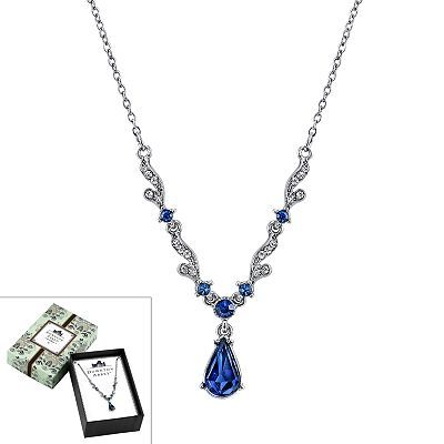 Downton Abbey® French Scroll Y Necklace