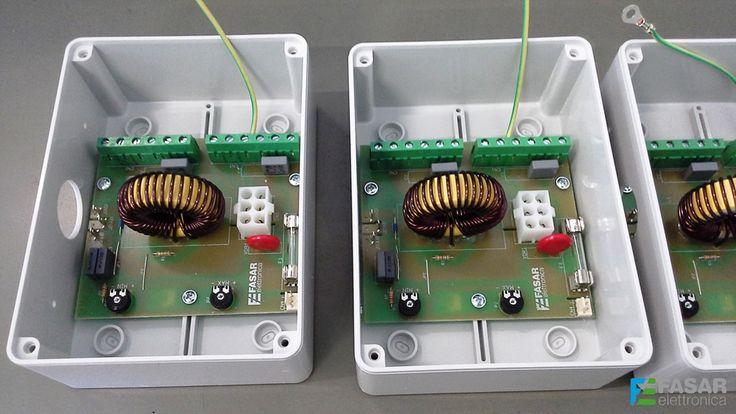 Manufacture of electronic regulators for ventilation motors (www.fasarelettronica.com).