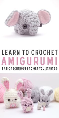 There's nothing cuter than Amigurumi projects. They are quick to make and fun to give as gifts! Learn how to make these sweet creatures.