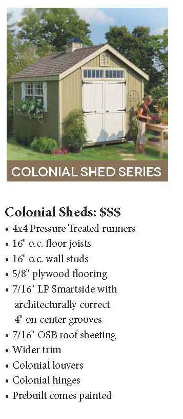 Sheds | Storage Shed | Tool Shed | Wood Shed | Shed Kit | Outdoor Storage