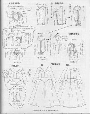 disfraz de la Bella Durmiente con patrones para coser | Trato o truco